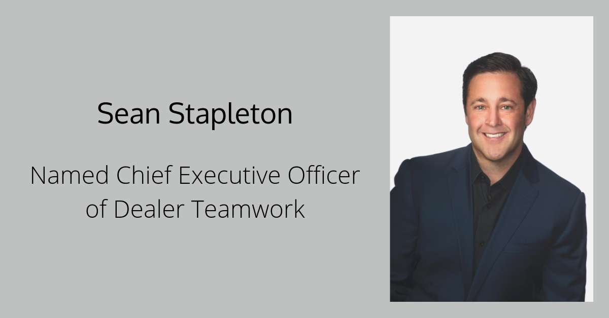 Sean Stapleton Named CEO
