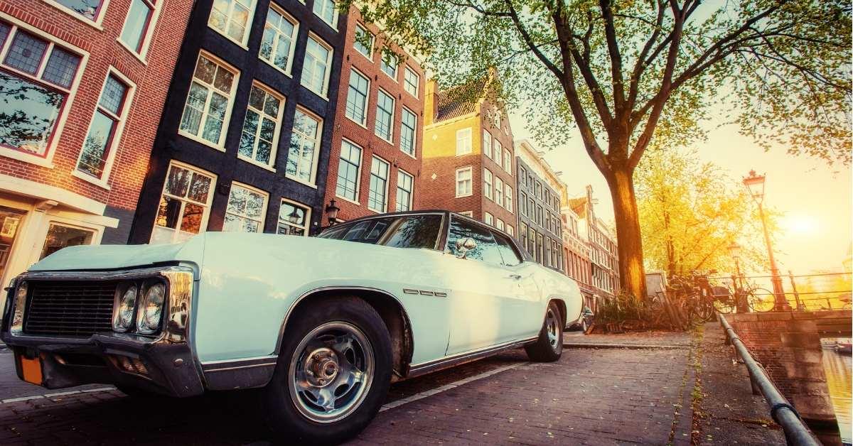 Car In Street