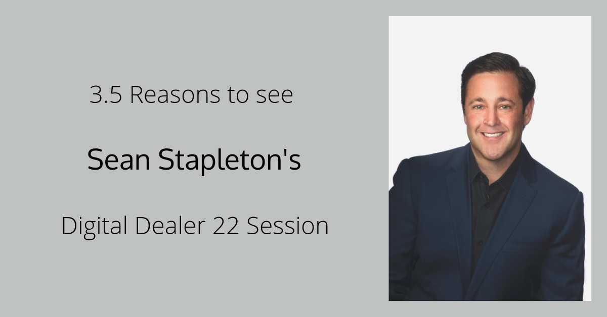 Sean Stapleton - Digital Dealer 22 Sesssion