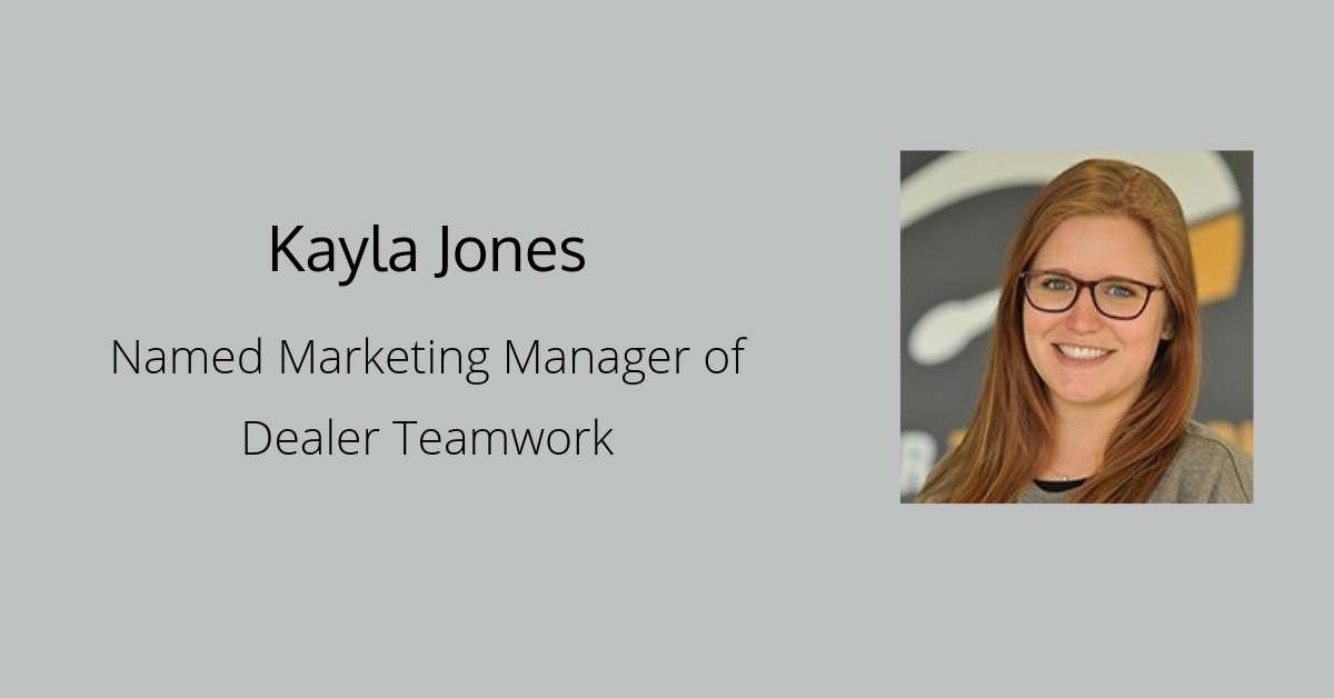 Kayla Jones Named Marketing Manager