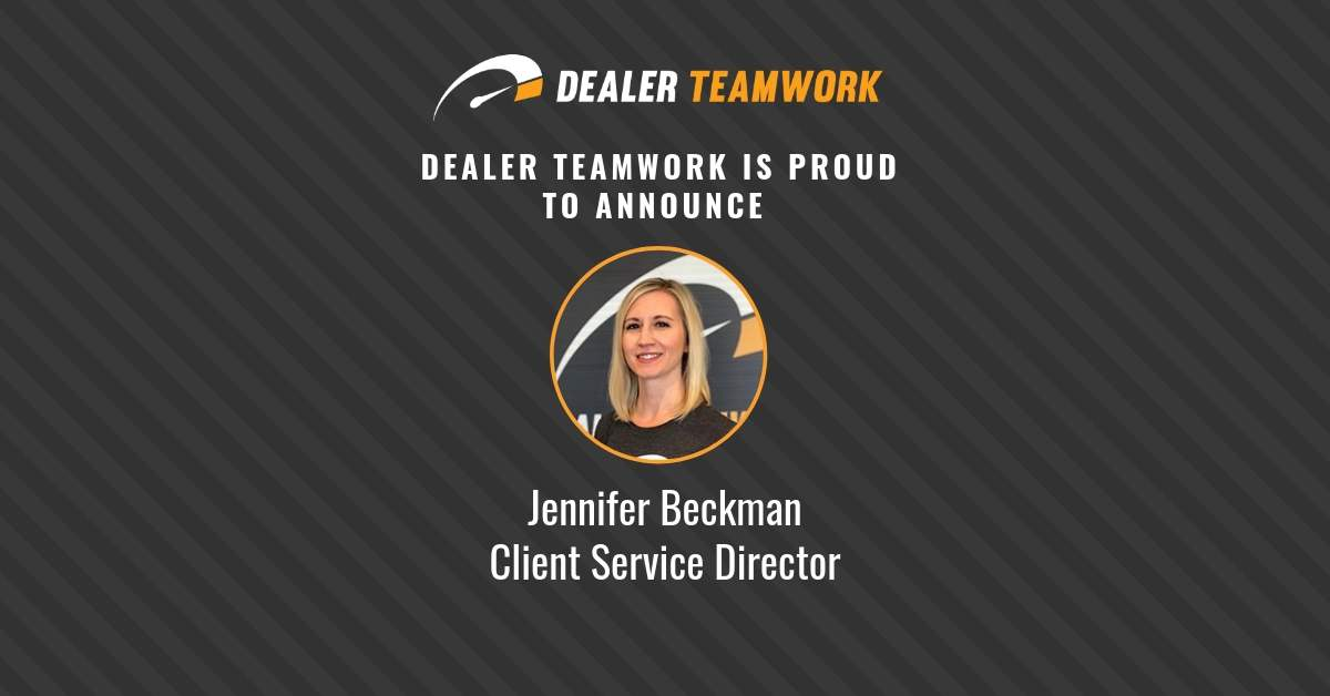Jen Beckman - Client Service Director