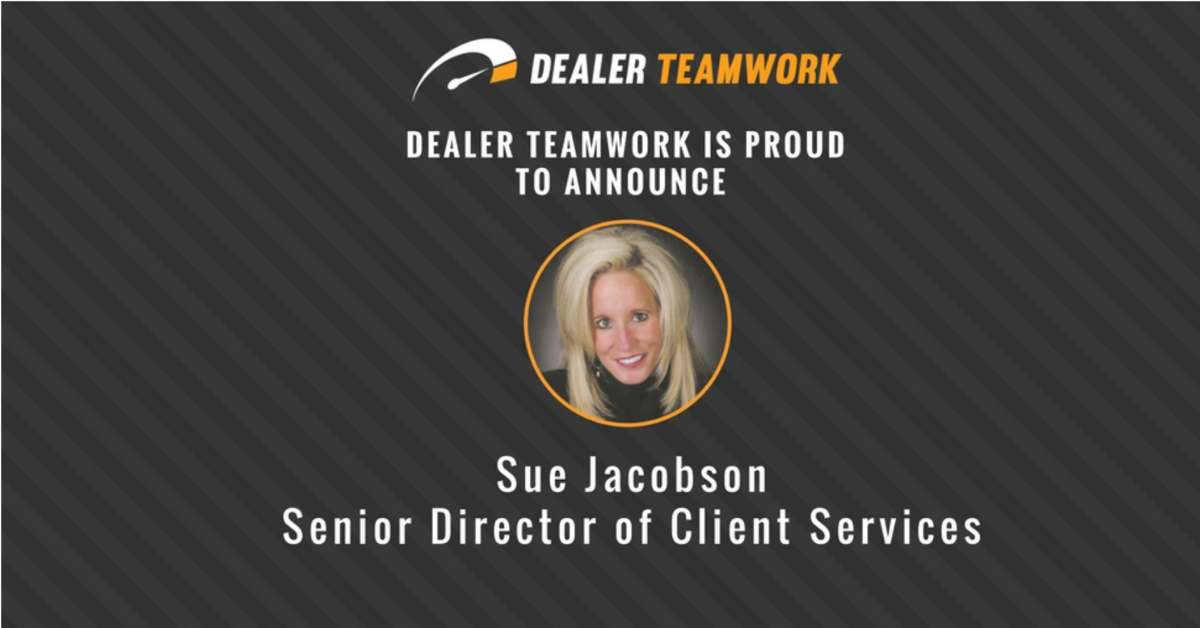 Sue J - Dealer Teamwork