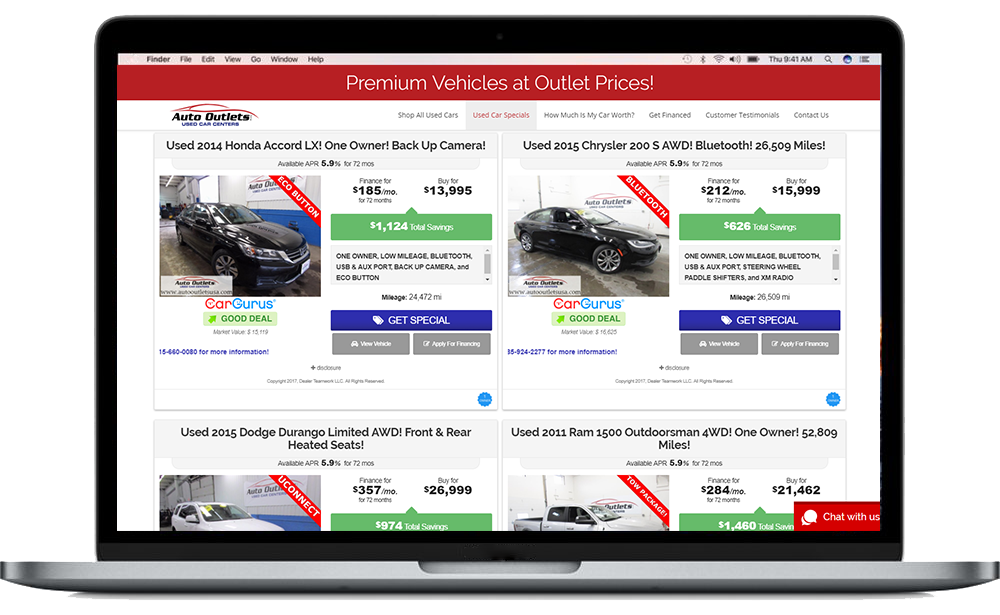 Dealer Teamwork - Auto Outlets USA Case Study