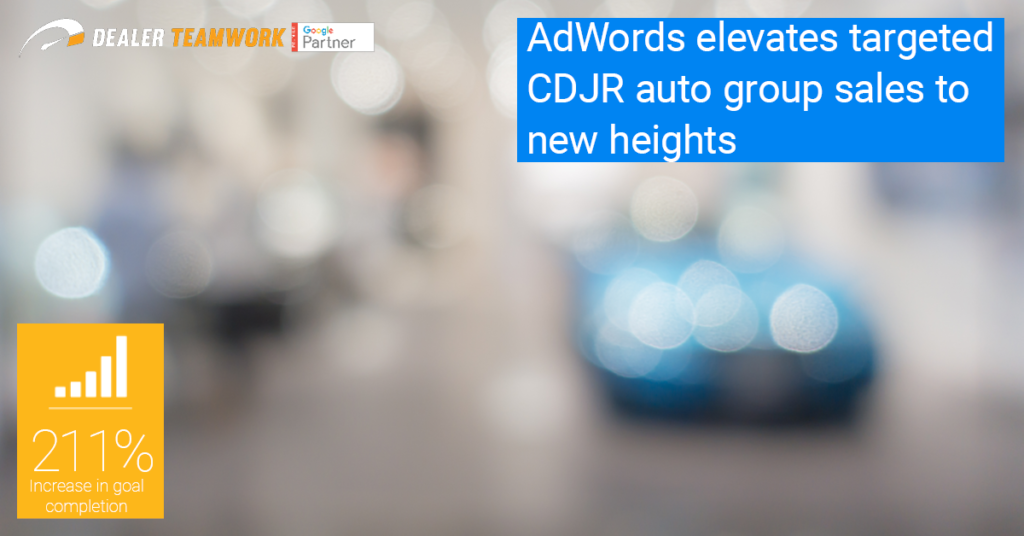 Dealer Teamwork CDJR Case Study