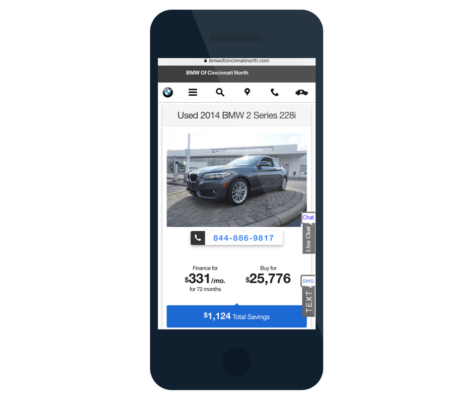 BMW Certified Digital Advertising Partner - CPO Offers Mobile
