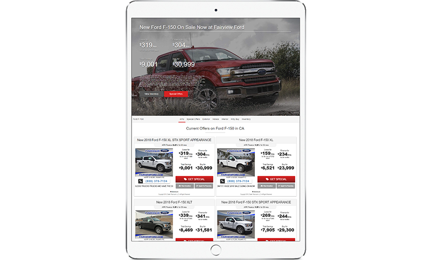 Dealer Teamwork - Ford Digital Marketing Partner