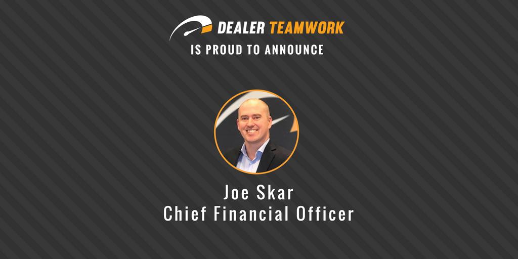 Joe Skar - Dealer Teamwork CFO