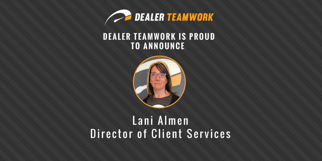 Lani Almen Dealer Teamwork Client Services Director