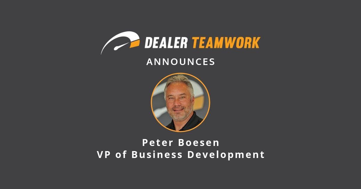 Peter Boesen- VPBD - Dealer Teamwork