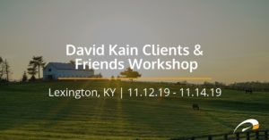 David Kain Clients & Friends Workshop