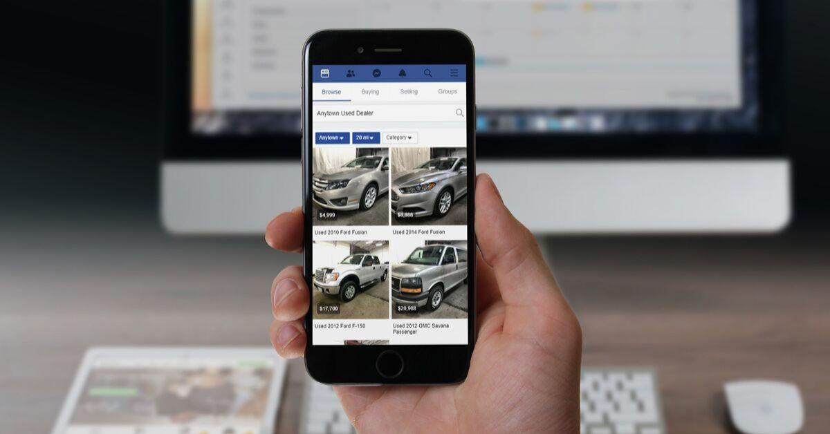 Facebook Marketplace Preview - Dealer Teamwork