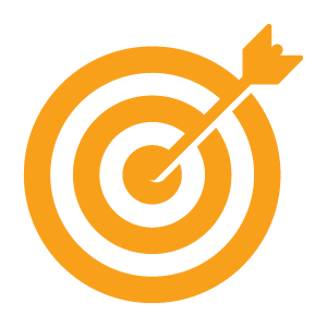Target Icon - orange