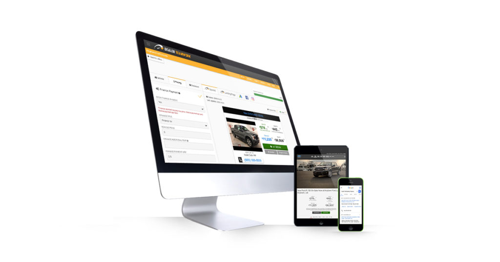 MPOP New Vehicle Marketing Editing, Landing Pages and Ads on Multiple Devices