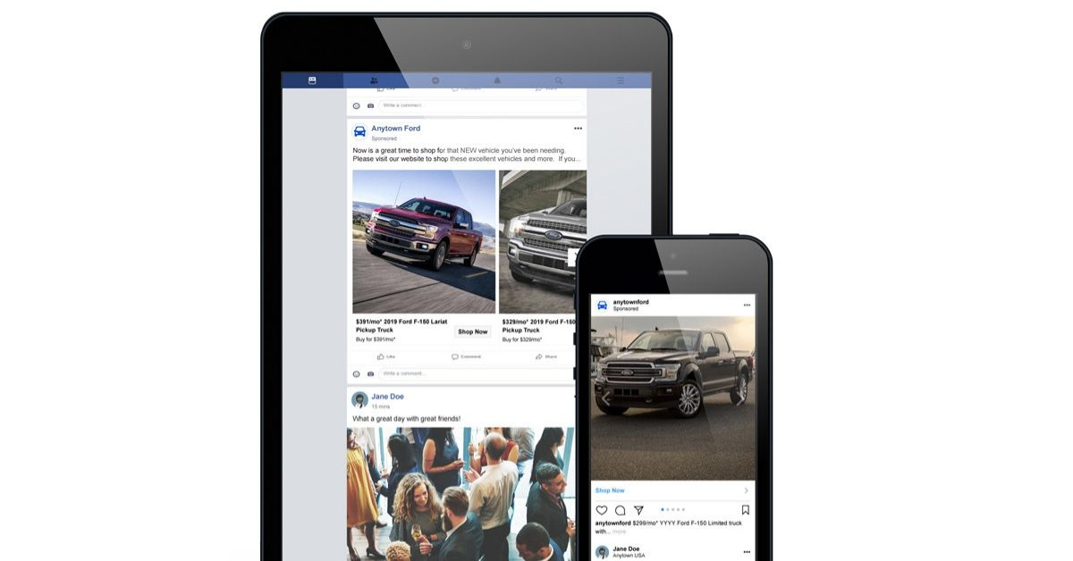 Facebook & Instagram Ads Blog Image - Dealer Teamwork