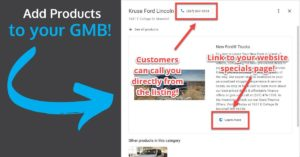 How to Add Products & Services - GMB - 1200x628 OG Image - Dealer Teamwork