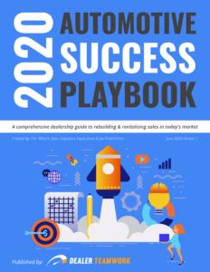 2020 Automotive Success Playbook Cover