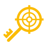 yellow keyword icon