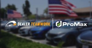 Dealer Teamwork and ProMax logos