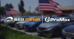 Dealer Teamwork and ProMax logos